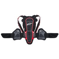 Alpinestars Nucleaon KR-3 Back Protector (Smoke Black/Red)