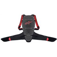 Alpinestars Nucleaon KR-Cell Back Protector (Smoke Black/Red)