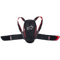 Alpinestars Nucleaon Kr-Y Kids Back Protector (Black|Red)