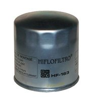 Hiflo  HF163 Oil Filter (Zinc Finish)