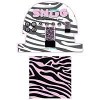 Oxford Snug Thermal Head & Neck Wear (Pink Zebra)