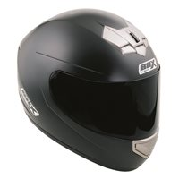 Box BX-1 Motorcycle Helmet (Matt Black)