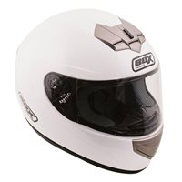 Box BX-1 Motorcycle Helmet (White)
