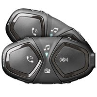 Interphone Bluetooth Headset Active Helmet Intercom (Twin Pack)