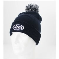 Arai Bobble Beanie (Dark Navy)