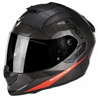 Scorpion Exo 1400 Carbon Helmet Pure Red