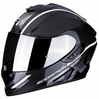 Scorpion Exo 1400 Carbon Helmet Grand White