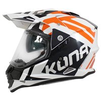 Vemar Kona Desert Helmet (Pearl White|Orange)