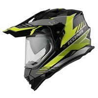 Vemar Kona Explorer Helmet (Black|Fluo Yellow)