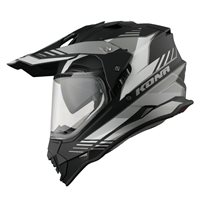 Vemar Kona Explorer Helmet (Matt Black|White)