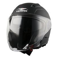 Vemar Feng Open Face Helmet (Matt Black)