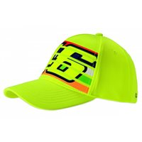 VR46 Stripes Baseball Cap (Flo Yellow)
