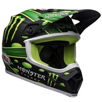 Bell Moto-9 Flex Mcgrath Showtime Helmet (Black|Green)