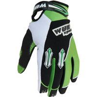Wulfsport Kids Stratos Moto-X Gloves (Green)