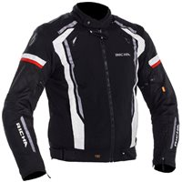 Richa Airwave Textile Motorcycle Jacket (Black/White/Red)
