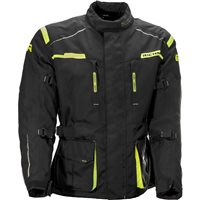 Richa Axel Textile Jacket (Black/Fluo Yellow)