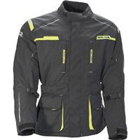 Richa Axel Textile Motorcycle Jacket (Grey/Fluo Yellow)