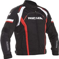 Richa Falcon 2 Textile Motorcycle Jacket (Black/Red)