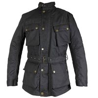 Richa Bonneville Womens Textile Jacket (Black)