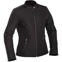Richa Lausanne Womens Textile Jacket (Black)