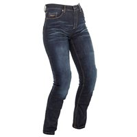 Richa Nora Ladies Aramid Denim Slim Fit Jean (Navy Blue)