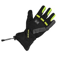 Richa Tundra Evo Motorcycle Gloves (Black/Fluo Yellow)