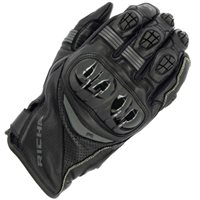 Richa Rotate Motorcycle Gloves (Black/Grey)