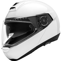 Schuberth C4 Basic Flip Front Motorcycle Helmet (Gloss White)
