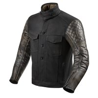 Revit Crossroads Motorcycle Jacket (Black)