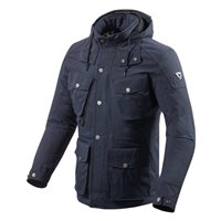 Revit Triomphe Motorcycle Jacket (Dark Navy)