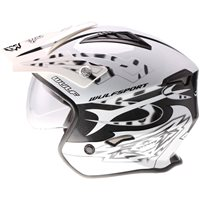Wulfsport Cub Vista Trials Helmet (White)