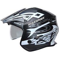 Wulfsport Cub Vista Trials Helmet (Black)