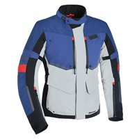 Oxford Mondial Advanced Textile Jacket (Grey Blue & Red)