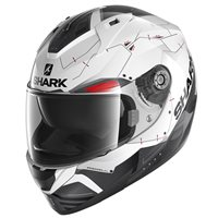 Shark Ridill 1.2 Mecca Helmet (White|Black|Red)