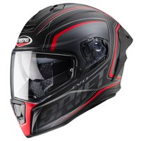 Caberg Drift Evo Integra Helmet (Matt Black|Anthracite|Red)