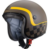 Caberg Freeride Formula Open Faced Helmet (Matt Brown|Yellow)