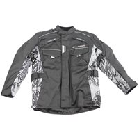 Wulfsport Kids Alpina Motorcycle Jacket (Black|Grey)