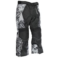 Wulfsport Alpina Kids Armoured Motorcycle Trousers (Black|Grey)