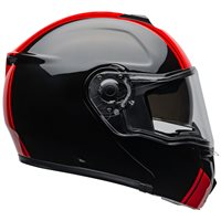 Bell SRT Modular Ribbon Flip Front Helmet (Black|Red)