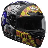 Bell Qualifier DLX Mips Devil May Care Helmet (Grey)
