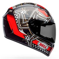 Bell Qualifier DLX Mips Isle Of Man 2020 Helmet (Red|Black|White)