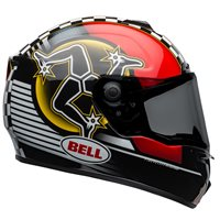 Bell SRT Isle Of Man 2020 Helmet (Black|Red)
