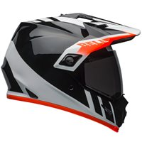 Bell MX-9 Adventure MIPS Dash Helmet (Black|White|Orange)