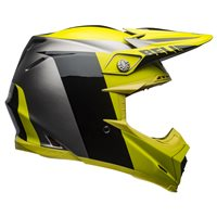 Bell Moto-9 Flex Division Helmet (Black|Hi-Viz Yellow|Grey)
