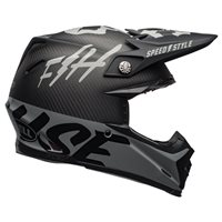 Bell Moto-9 Flex Fasthouse WRWF Helmet (Black|White|Grey)