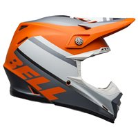 Bell Moto-9 MIPS Prophecy Helmet (Orange|Black|Grey)