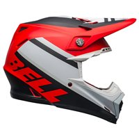 Bell Moto-9 MIPS Prophecy Helmet (White|Red|Black)