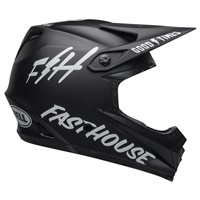 Bell Moto-9 Youth MIPS Fasthouse Helmet (Black|White)