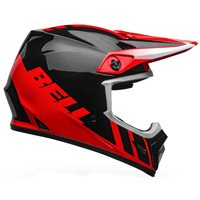 Bell MX-9 MIPS Dash Helmet (Red|Black)