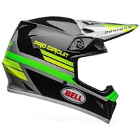 Bell MX-9 MIPS Pro Curcuit Replica Helmet (Black|Green)